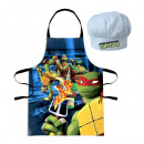 Set Apron + Hat Head NINJA TURTLES