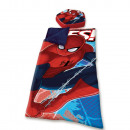 Sleeping Bag + Pilloes Spiderman