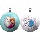 Set of 2 Christmas balls 8cm THE SNOW QUEEN -