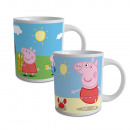 Ceramic Mug 23cl Peppa Pig - (Assorted 2 Models