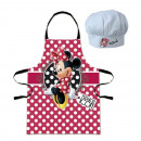 Set Tablier + Toque de Chef MINNIE