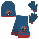 Beanie + Scarf + Gloves Avengers - (blue & red