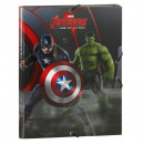 Porte documents 3 Rabats AVENGERS - (35 x 26cm)