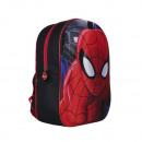 Rucksack 3D Spiderman - Schwarz