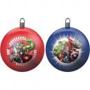 Set de 2 Boules de Noël 8cm AVENGERS