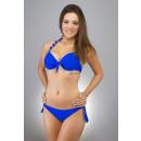 Bikini bleu foncé
