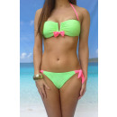 Bikini arc avant vert