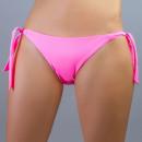 Pink bikini briefs