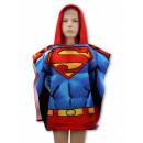grossiste Articles sous Licence: Superman  poncho-serviette à séchage rapide