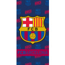 wholesale Licensed Products:FC Barcelona beach towel