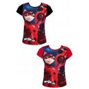 Großhandel Fashion & Accessoires: Miraculous -Marienkäfer-T Shirt, kurze Ärmel