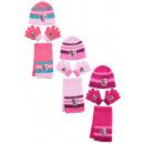 ingrosso Prodotti con Licenza (Licensing): frozen cap di guanti + scarf