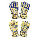 wholesale Other: Minions ski glove, 5 finger