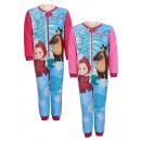 ingrosso biancheria notte: Masha pigiama, calci (Tutina)