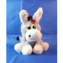 Plush - DONKEY supersoft with green eyes