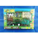Set Farm, 8 pièces, tracteur et chiffres