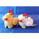 Peluche - poulet avec le son