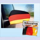 flag 2 Paquet Allemagne miroir de voiture