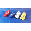 Rally car, 10x4cm, 4 colors assorted