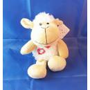 Peluche - mouton, 17/23 cm, assis