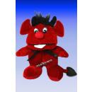 Plüsch-Teufel, 15 cm