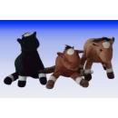 standing plush horse, 18 cm