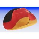 Allemagne chapeau de cowboy Fan noir-rouge-or