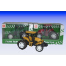 Farm tractor in display box in 12er