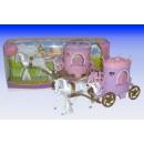 Princesse chariot à cheval