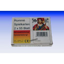 ROMME cards, 2 x 55mm sheet