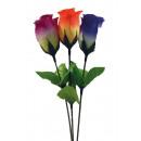 Rosebud 30 cm, 4 assortis, roses d'art