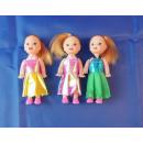 kleine Puppe mit Kleid im Beutel, 10 cm