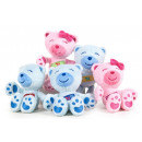 Nenuco bears from softplush pink and blue