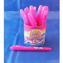 original Barbie Textmarker pink im Becher