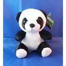 Plüsch PANDA, sitzend, 17 cm