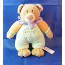 Alex Bog Plush BABY BEAR with bells rattle