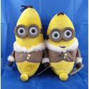 30 cm Minions - Bob / Kevin comme une banane avec