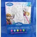 Malset Disney Frozen, 32 x 23 cm