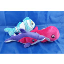 colorful plush - sea animals 24 cm