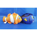 wholesale Aquatics: Plush - tropical  fish, 2-fold clown / surgeonfish