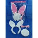 Ensemble Bunny, bandeau avec des oreilles de lapin