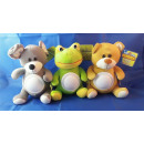 LED night light plush toys, 20 cm