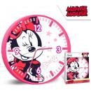 wholesale Others: DisneyMinnie Wall clock 25 cm