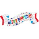 Happy Birthday Foil Balloons 101 cm