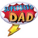 Superhero Dad, Apa Fólia lufi 68 cm