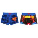mayorista Ropa interior: Superman bóxer para niños 2 piezas / paquete