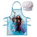 Disney Lodowy magiczny fartuch dziecięcy zestaw 2