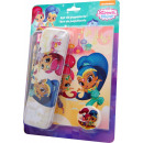 Metal pen set (9 pcs.) Shimmer and Shine