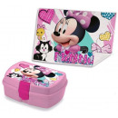 Scatola di panini + asciugamano Set Disney Minnie