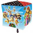 Super Mario Foil balloons cube 38 cm